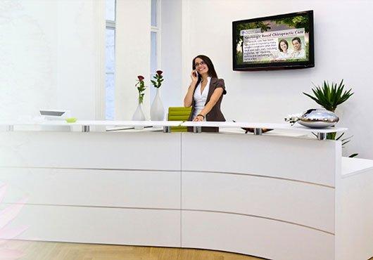 digital signage medical office