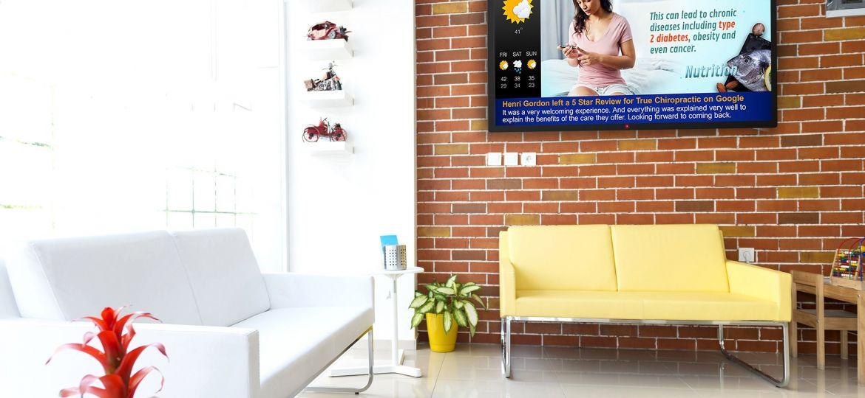 Modern waiting room